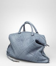 Top Handle BagBagsLeatherBlue Bottega Veneta
