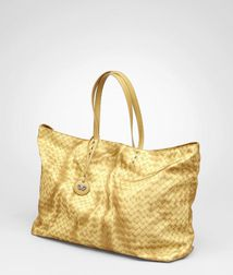 Tote BagBagsTextile fibersRed Bottega Veneta