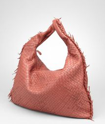 Shoulder or hobo bag BagsLeatherRed Bottega Veneta®