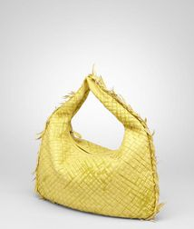 Shoulder or hobo bag BagsLeatherYellow Bottega Veneta