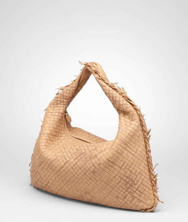 BOTTEGA VENETA Intrecciato Profondo Nappa Large Veneta Shoulder or hobo bag D fp