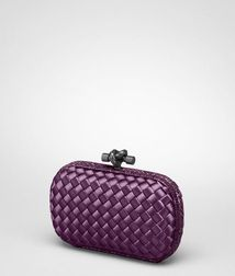 ClutchBagsTextile fibers, Reptile leatherRed Bottega Veneta
