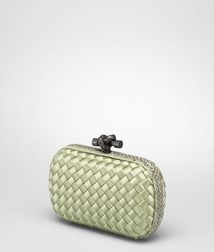 ClutchBagsTextile fibers, Reptile leatherRed Bottega Veneta®