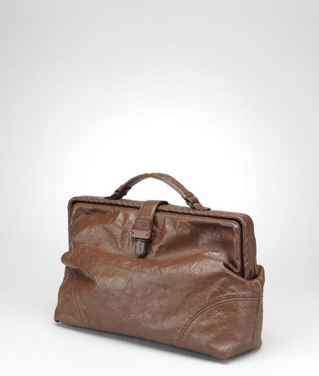 BOTTEGA VENETA Nappa Memory Briefcase Business bag U fp