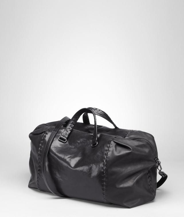 Waxed Vitello Laque Duffel