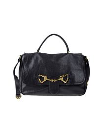 MOSCHINO - Large leather bag