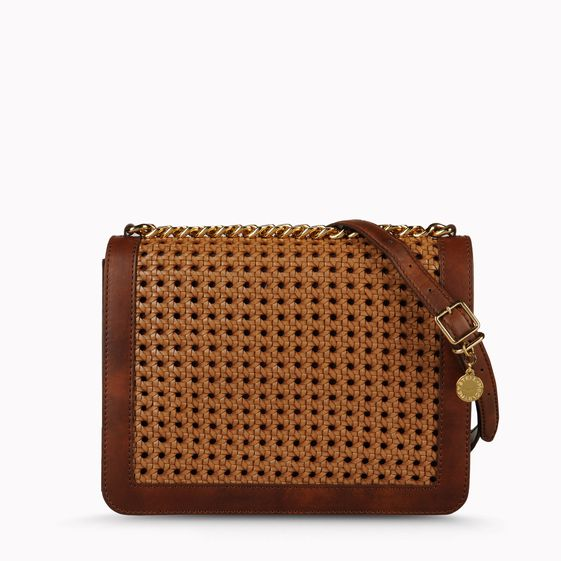 Stella McCartney, Geflochtene Pochette Pembridge aus Rindslederimitat