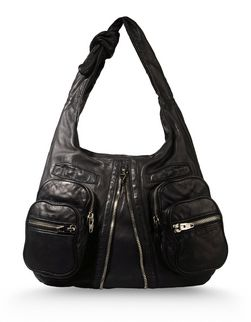 DONNA IN WASHED BLACK WITH RHODIUM