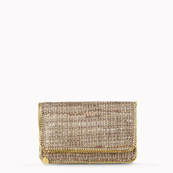 Stella McCartney, Falabella Boucle Fold Over Clutch