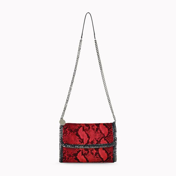 Stella McCartney, Falabella Python Shoulder Bag 