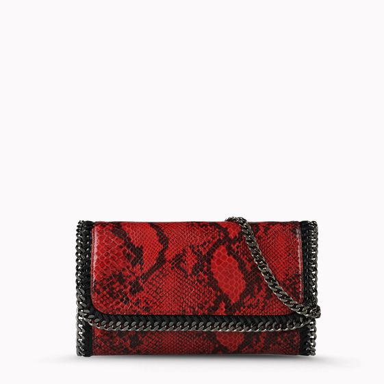 Stella McCartney, Falabella Python Clutch