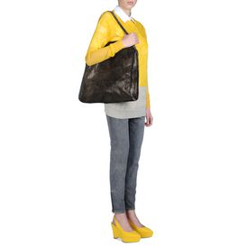 STELLA McCARTNEY, Tote Bag, Große Tasche Falabella in Chamois-Optik
