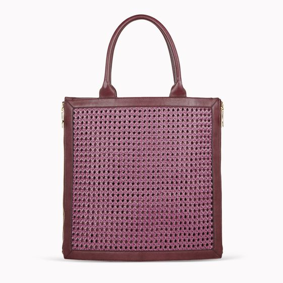 Stella McCartney, TOTE PEMBRIDGE IN ECOPELLE INTRECCIATA