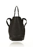 ALEXANDER WANG DIEGO IN BLACK PEBBLE LEATHER WITH MATTE BLACK Shoulder bag Adult 8_n_d