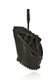 ALEXANDER WANG DIEGO IN BLACK PEBBLE LEATHER WITH MATTE BLACK Shoulder bag Adult 8_n_e