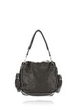 ALEXANDER WANG JANE IN BLACK WASHED LAMB  WITH RHODIUM  Shoulder bag Adult 8_n_d