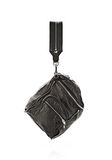 ALEXANDER WANG JANE IN BLACK WASHED LAMB  WITH RHODIUM  Shoulder bag Adult 8_n_e