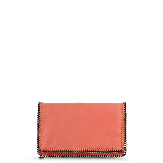 Stella McCartney, Falabella Shaggy Deer Fold Over Clutch 