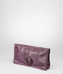 ClutchBagsReptile leatherPurple Bottega Veneta®
