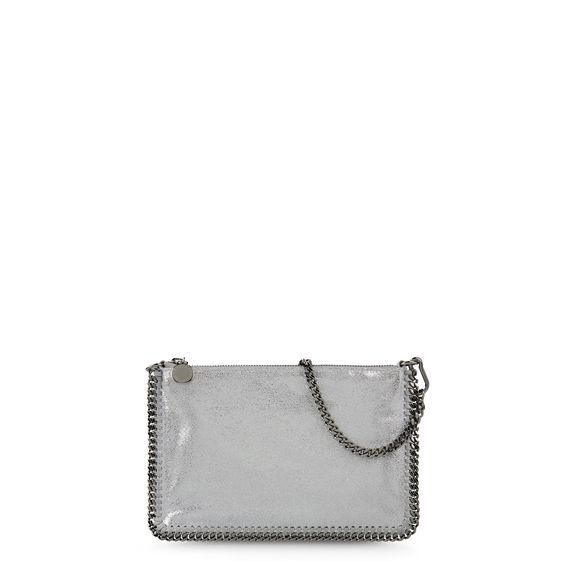 Stella McCartney, Portemonnaie Falabella in Chamois-Optik