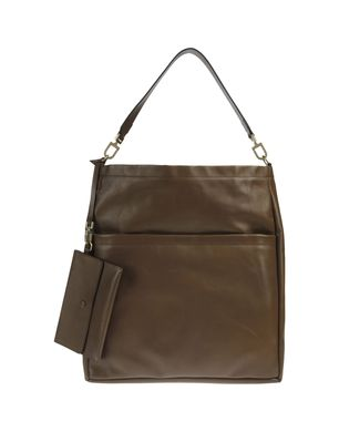 BRUNELLO CUCINELLI - Large leather bag