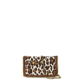 STELLA McCARTNEY, Borsa a spalla, Falabella Cross Body Stampa Leopardo