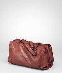 Top Handle BagBagsLeatherRed Bottega Veneta®