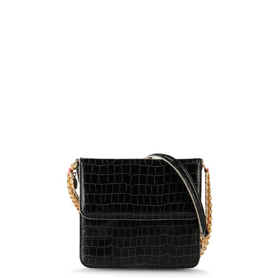 Stella McCartney, Grace Moc Croc Cross Body Bag