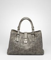 Bottega Veneta® Intreccio Graphic Roma Bag
