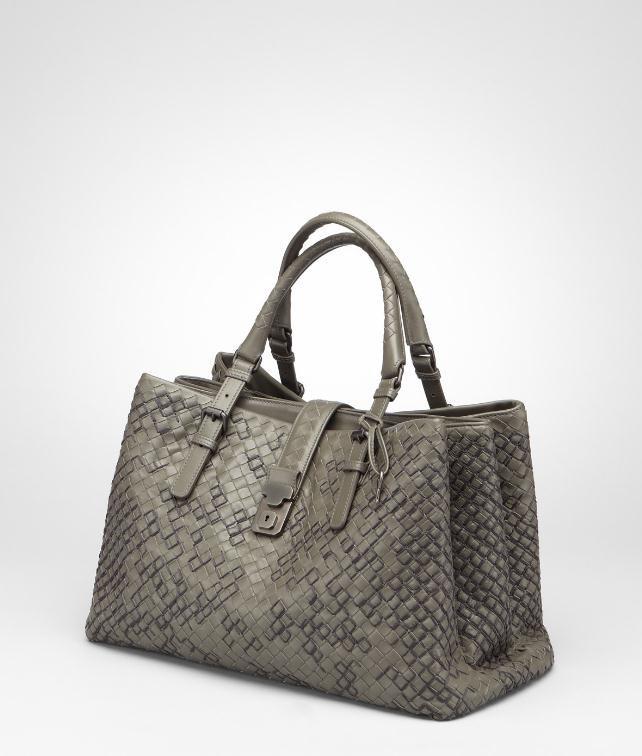 BOTTEGA VENETA Intreccio Graphic Roma Bag Top Handle Bag D fp