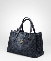 Top Handle BagBagsLeatherGrey Bottega Veneta®
