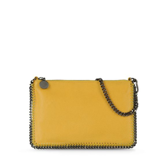 Stella McCartney, Falabella Shaggy Deer Pouch Wallet 
