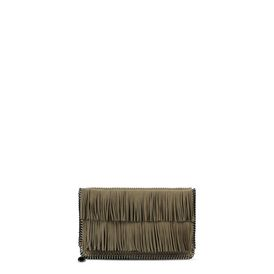 STELLA McCARTNEY, Clutch Bag, Falabella Tassel Clutch