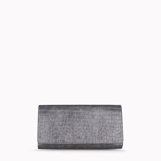 Stella McCartney, Clutch Grigia Oversize