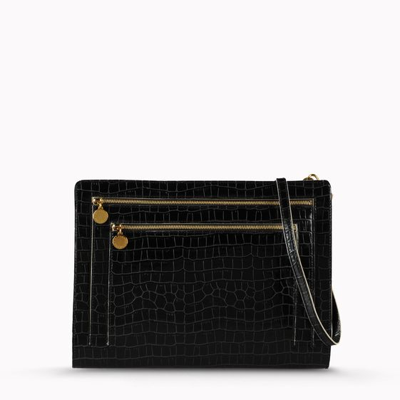 Stella McCartney, Grace Clutch Moc Croc