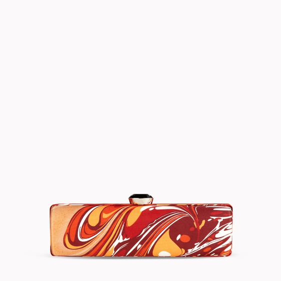 Stella McCartney, Marmorierte Clutch aus der Abendkollektion