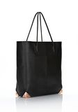 ALEXANDER WANG PRISMA TOTE IN PRINTED BLACK WITH ROSE GOLD TOTE Adult 8_n_d