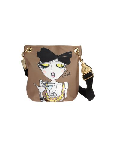 LOVE MOSCHINO - Small leather bag