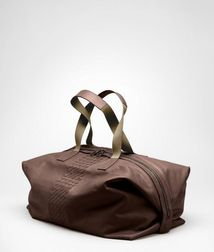 Duffel BagBagsLeatherBrown Bottega Veneta