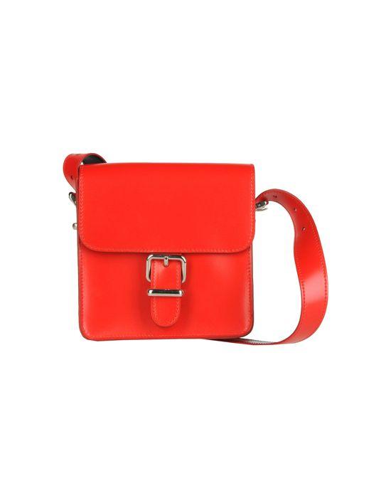 Женские Кожаные сумки - фото Маленькая кожаная сумка JIL SANDER NAVY, цена 8090 руб. - заказать.
