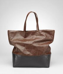 Tote BagBagsTextile fibers, Leather Bottega Veneta