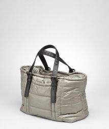 ToteBagsNappa leather, Technical fibersGrey Bottega Veneta