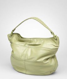 Shoulder or hobo bag BagsLeatherGreen Bottega Veneta®