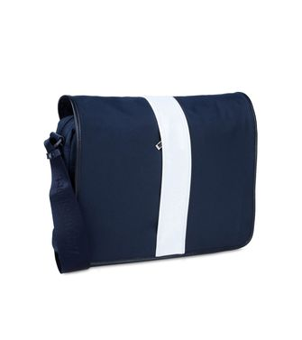 ZEGNA SPORT: Shoulder bag Black - Blue - 45195120MV
