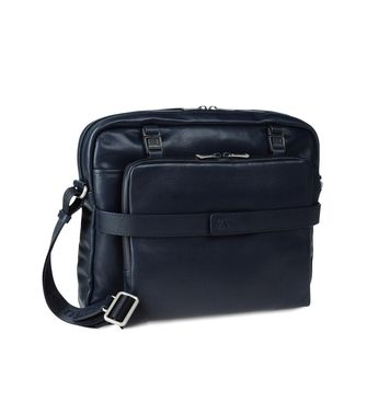 ZEGNA SPORT: Shoulder bag Blue - 45195121FE