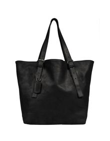 Large leather bag - MM6 by MAISON MARTIN MARGIELA