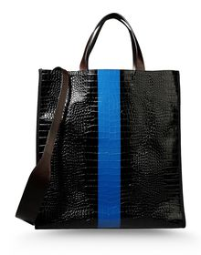 Large leather bag - DRIES VAN NOTEN
