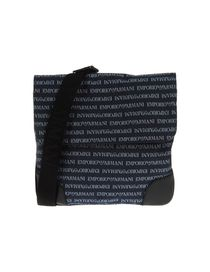 EMPORIO ARMANI - Medium fabric bag