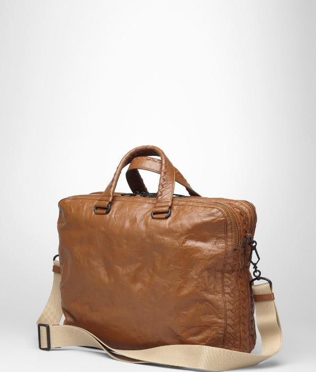 BOTTEGA VENETA Nappa Memory Cross Body Bag Business bag U fp