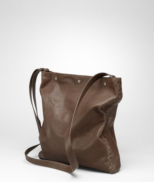 BOTTEGA VENETA Washed Vintage Calf Cross Body Bag Messenger Bag U fp